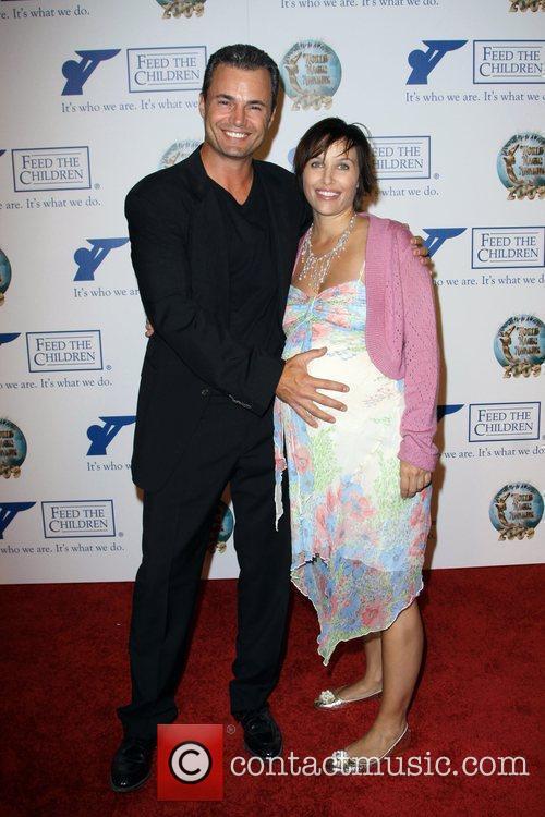 Matthew Borlenghi and wife Heather Borlenghi 2009 World...