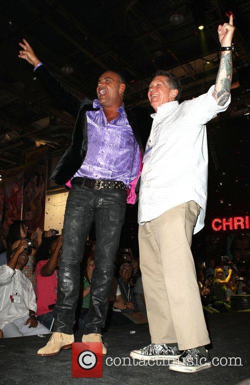 Christian Audigier and Ed Hardy 2009 MAGIC Marketplace...