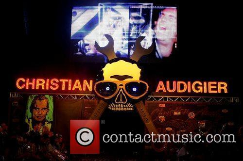 Christian Audigier Runway Show 2009 MAGIC Marketplace at...