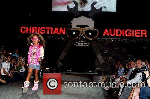 Christian Audigier Runway Show model 2009 MAGIC Marketplace...