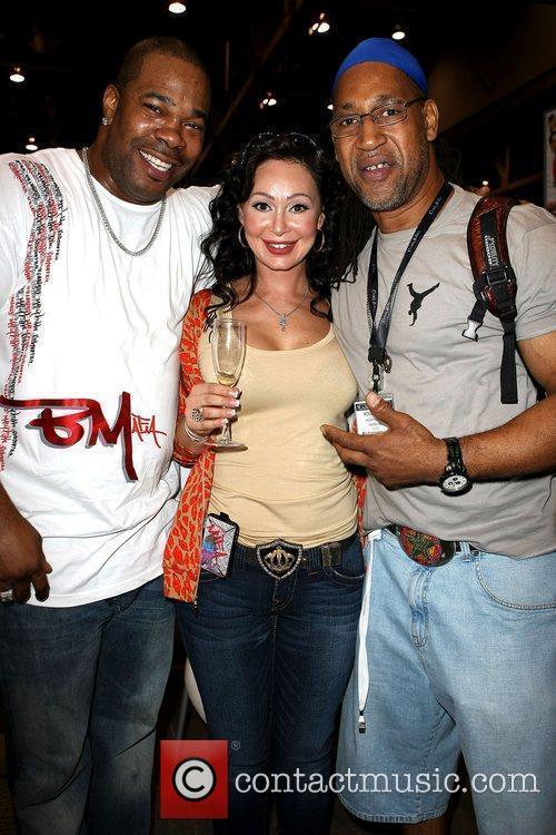 Busta Rhymes, Lana Fuchs and Kool Herc 2009...