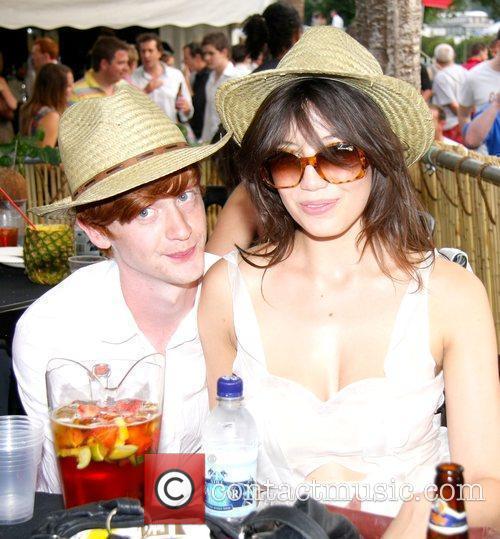 Daisy Lowe and Will Cameron Mahiki at the...