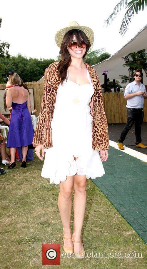 Daisy Lowe Mahiki at the Henley Regatta...