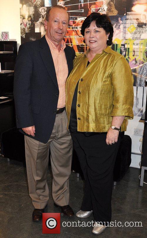 Brian Geoghegan, Mary Harney Annie Gribbin celebrates her...