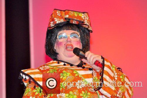 Coronation Street's Eric Potts as Widow Twankey at...