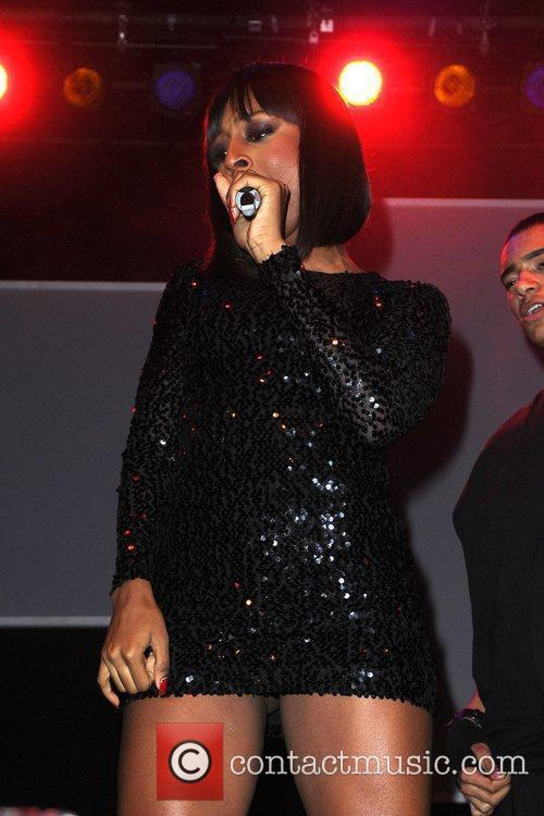 Performs at the switching on of Manchester's Christmas...