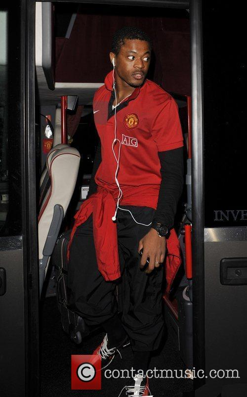 Patrice Evra arriving on the Manchester Utd team...