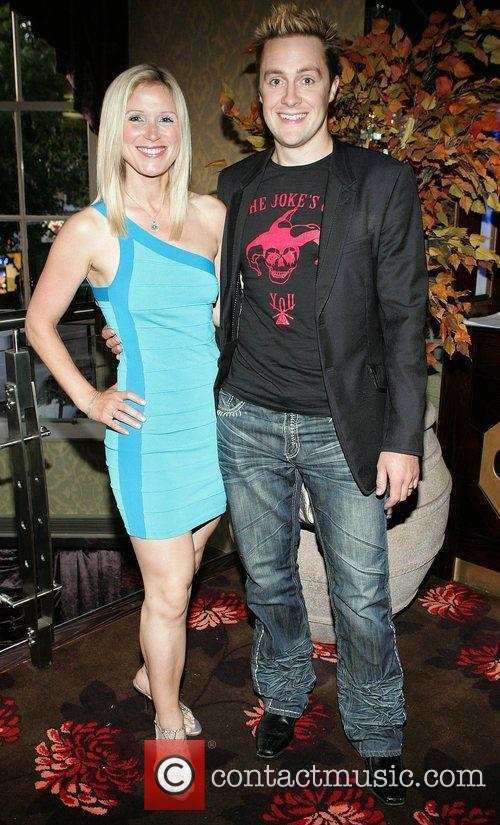 Keith Barry and wife Mareaid The grand opening...