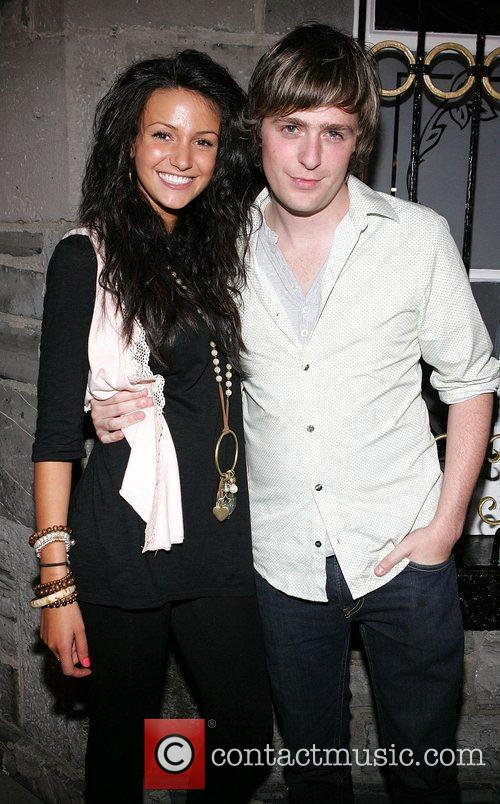 Michelle Keegan and George Mcmahon The grand opening...