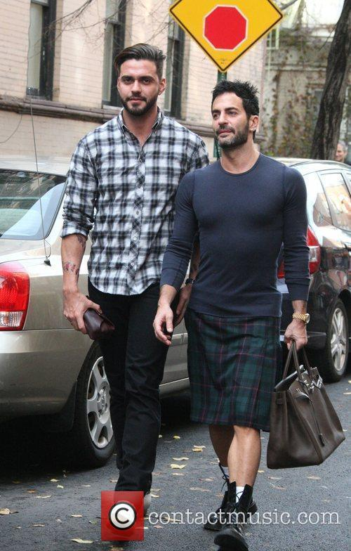 Marc Jacobs and Husband Lorenzo Martone 7