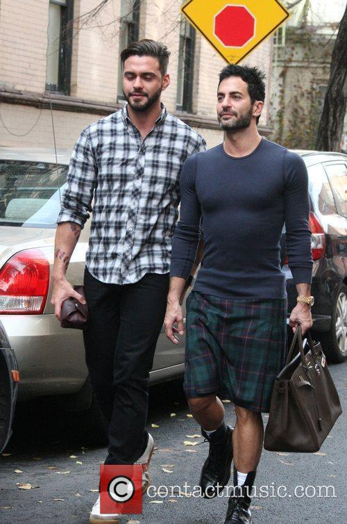 Marc Jacobs and Husband Lorenzo Martone 9