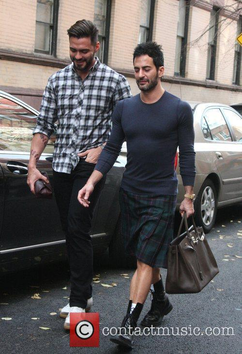 Marc Jacobs and Husband Lorenzo Martone 8
