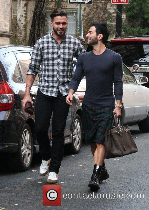 Marc Jacobs and Husband Lorenzo Martone 3