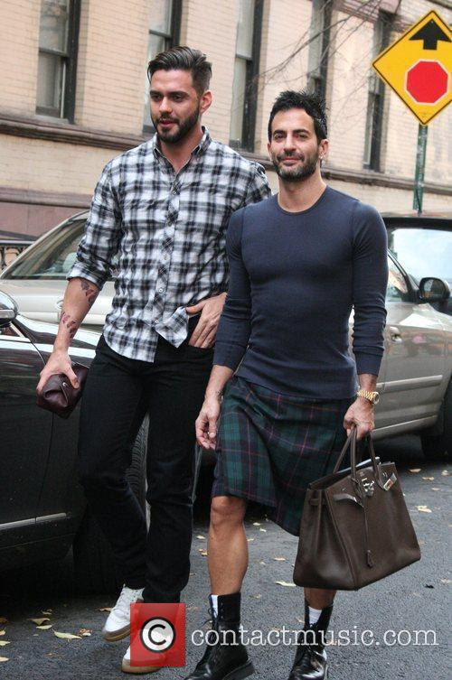Marc Jacobs and Husband Lorenzo Martone 6