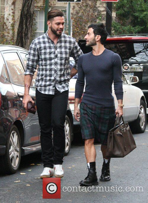 Marc Jacobs, husband Lorenzo Martone