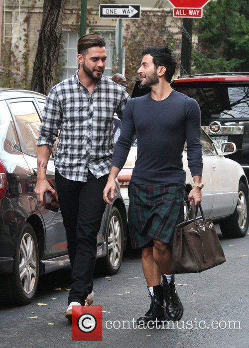 Marc Jacobs and Husband Lorenzo Martone 5