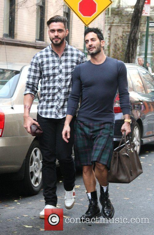 Marc Jacobs and Husband Lorenzo Martone 2