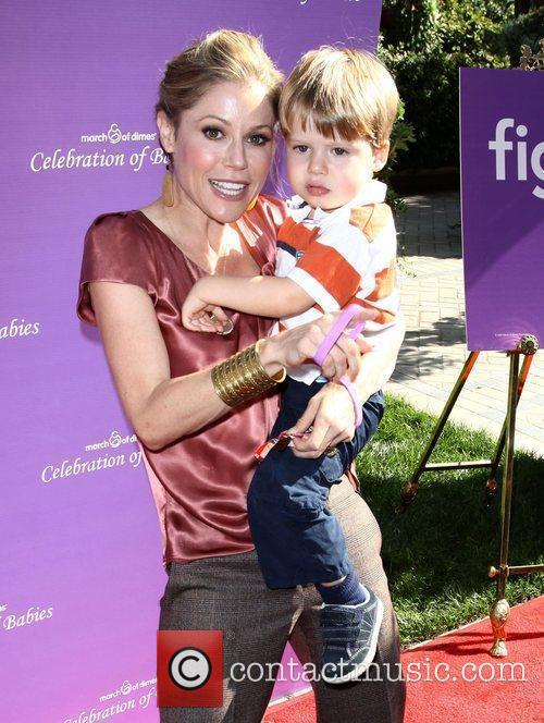 Julie Bowen and Son Oliver Mclanahan Phillips 6