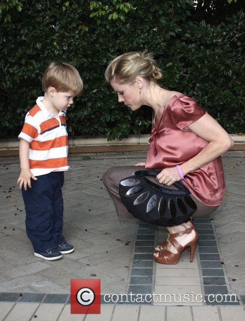 Julie Bowen and Son Oliver Mclanahan Phillips 1
