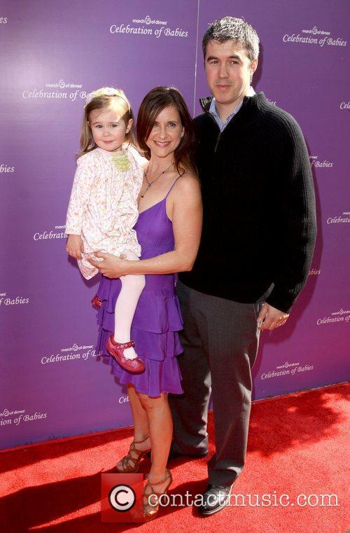 Kellie Martin and family  March of Dimes...