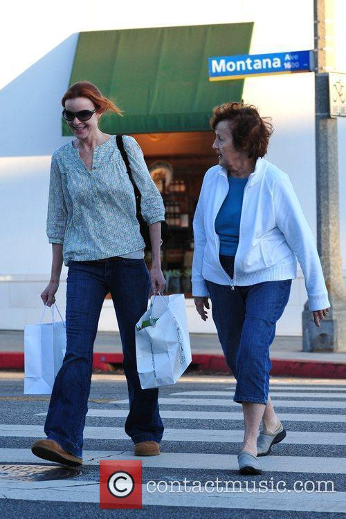 Marcia Cross and Her Mother 9