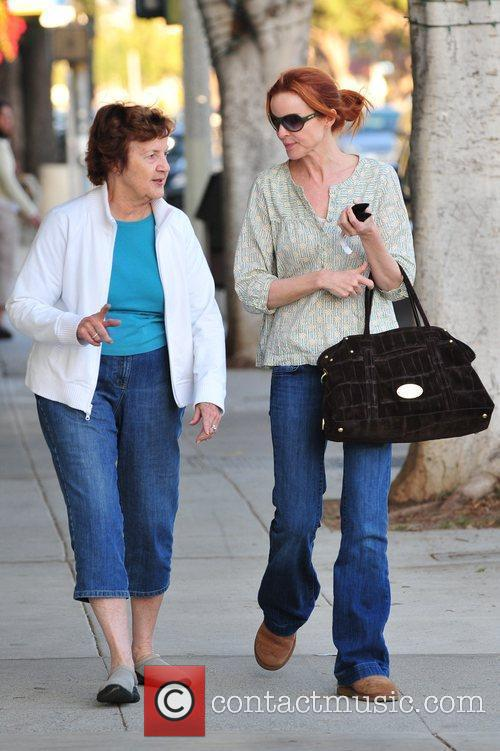 Marcia Cross and Her Mother 7