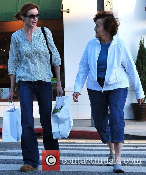 Marcia Cross and Her Mother 6