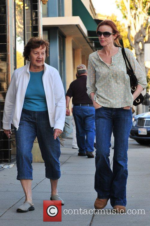 Marcia Cross and Her Mother 5