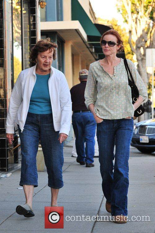 Marcia Cross and Her Mother 3