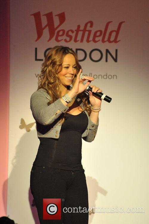 Mariah Carey, Westfield Shopping Centre