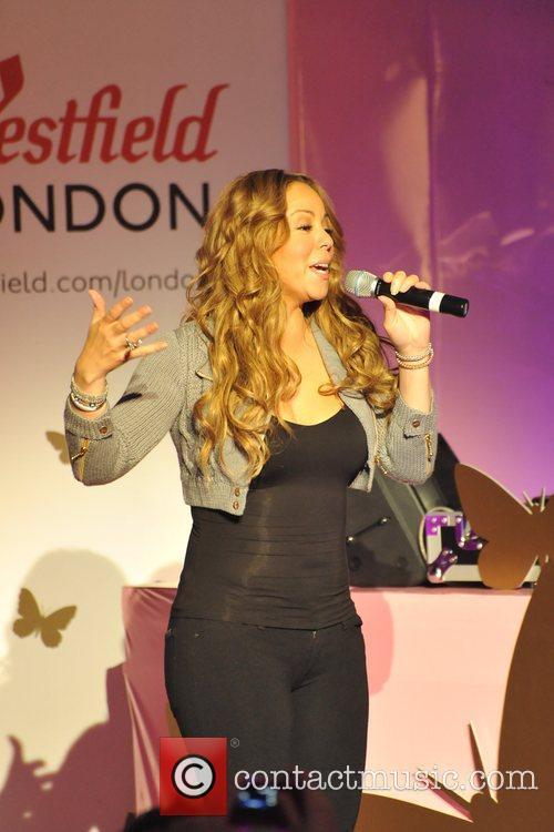 Mariah Carey, Westfield Shopping Centre