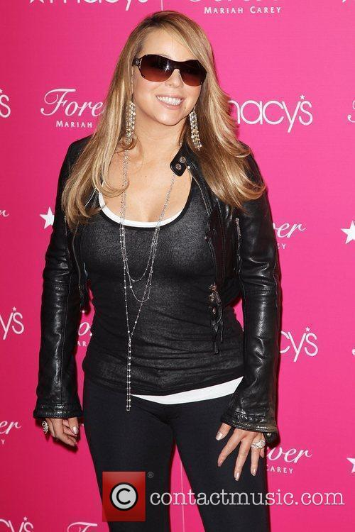 Mariah Carey promotes her new fragrance 'Forever' at...