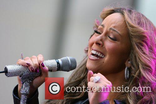 Singer Mariah Carey 1