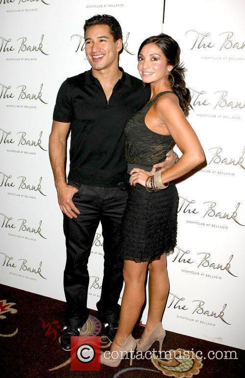 Mario Lopez, Courtney Mazza, The Bank nightclub