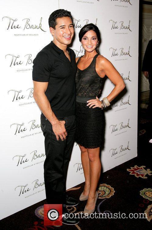 Mario Lopez and Courtney Mazza 3