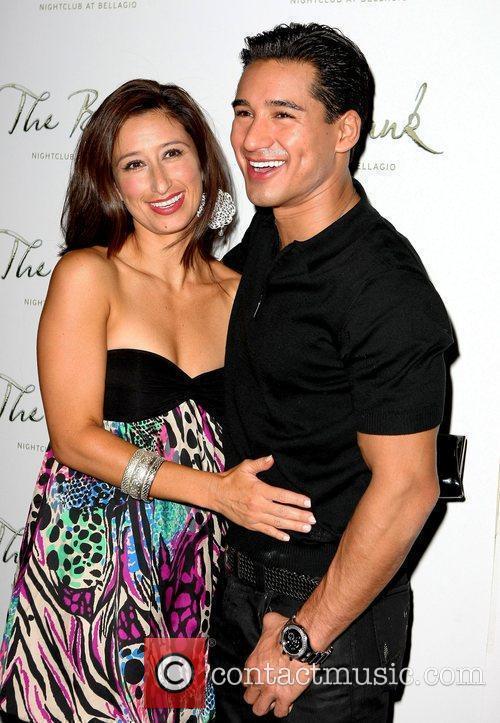 Mario Lopez and Marissa Lopez-wong