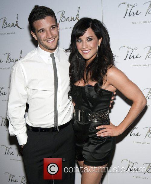 Mark Ballas and Joanna Pacitti Mark Ballas holds...