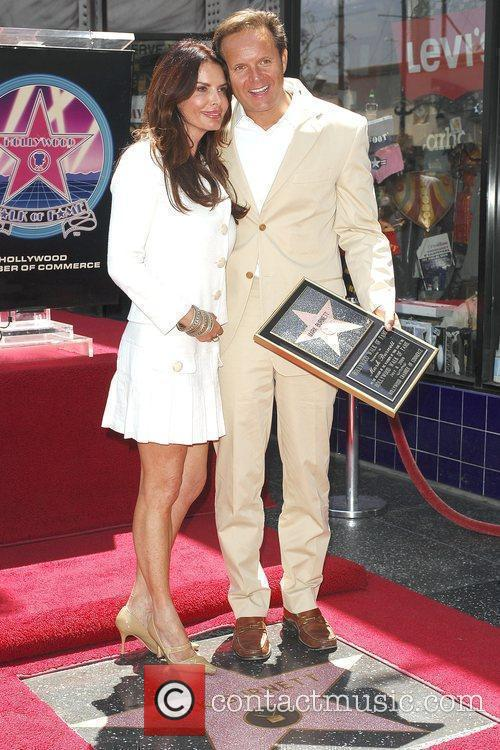 Mark Burnett and wife Roma Downey Hollywood television...