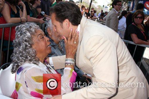Della Reese and Mark Burnett Hollywood television producer...