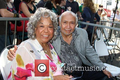 Della Reese and Franklin Lett Hollywood television producer...