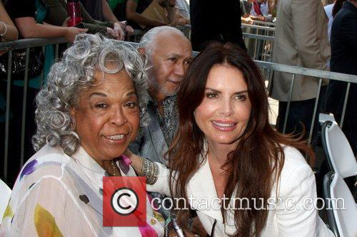 Della Reese and Roma Downey Hollywood television producer...
