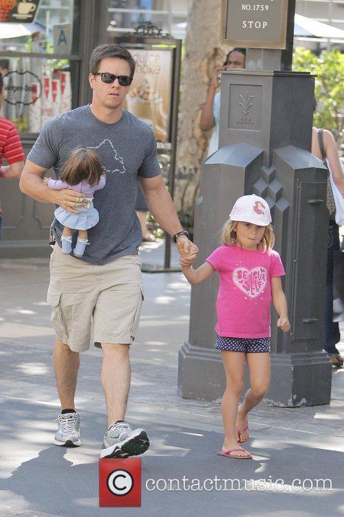 Mark Wahlberg takes his daughter, Ella Rae, to...