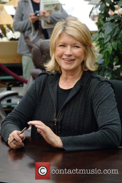 Martha Stewart signs copies of her new cook...