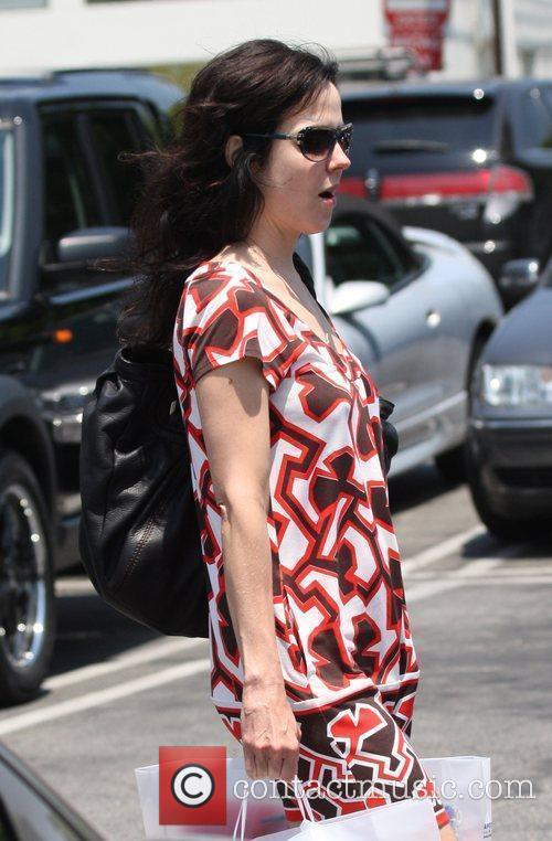 After shopping at Fred Segal in West Hollywood