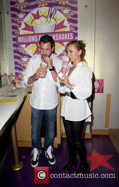Maksim Chmerkovskiy and Karina Smirnof 1