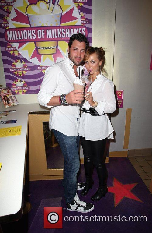 Maksim Chmerkovskiy and Karina Smirnof 6