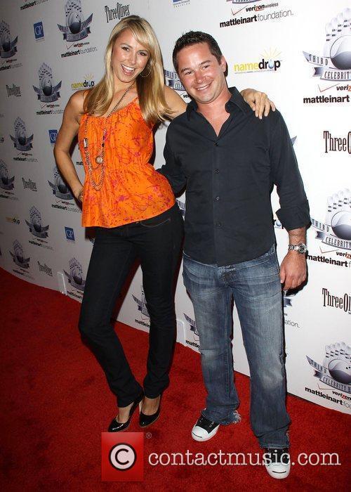 Stacey Keibler and Guest 3rd Annual Matt Leinart...