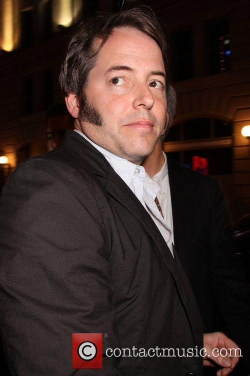 Matthew Broderick  seen leaving the American Airlines...