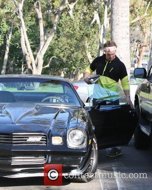 Matthew McConaughey goes to his Malibu gym in...