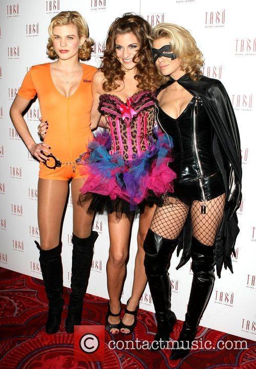 Angel, Rachel and Annalynn McCord Annalynne McCord holds...